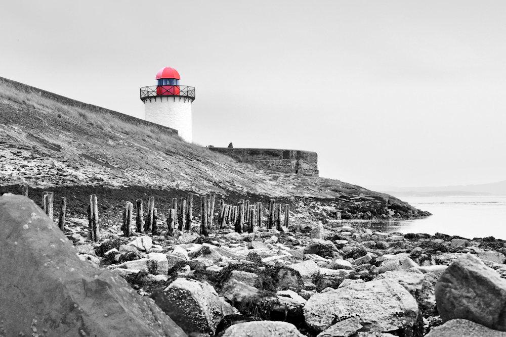 Burry Port (colour b & w)