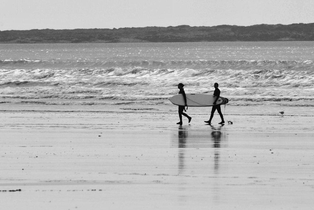 Gower Surfing